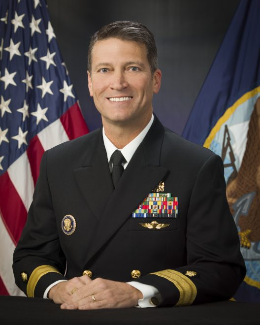 Trump Nominates Current White House Physician, Navy Admiral as Next Veterans Affairs Secretary