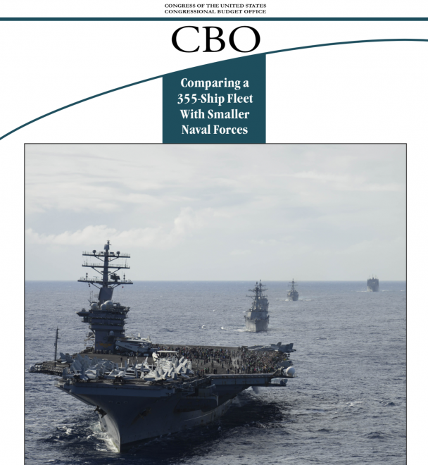 Congressional Budget Office Report on 355-Ship Navy Costs