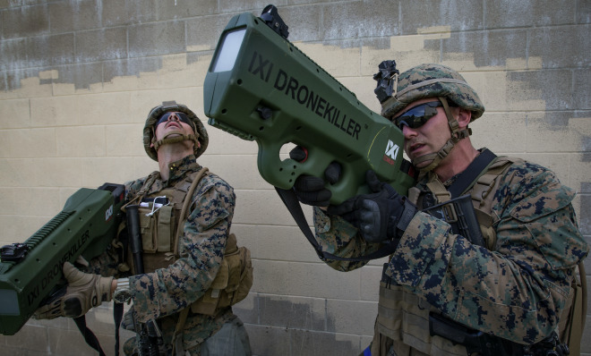 Marines Experiment With New Technology Concepts for the Urban Battlefield