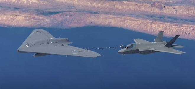 Concept for Lockheed MQ-25A Stingray Unmanned Tanker Bid Revealed