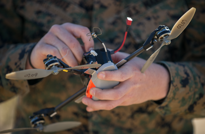 Pentagon Grounds Marines' 'Eyes in the Sky' Drones Over Cyber Security Concerns