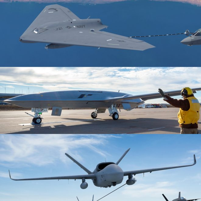 Navy Prioritizing Speed to Field Over Price for MQ-25A Stingray Program