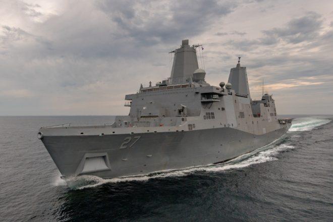 VIDEO: USS Portland Commissioned in Portland, Ore.