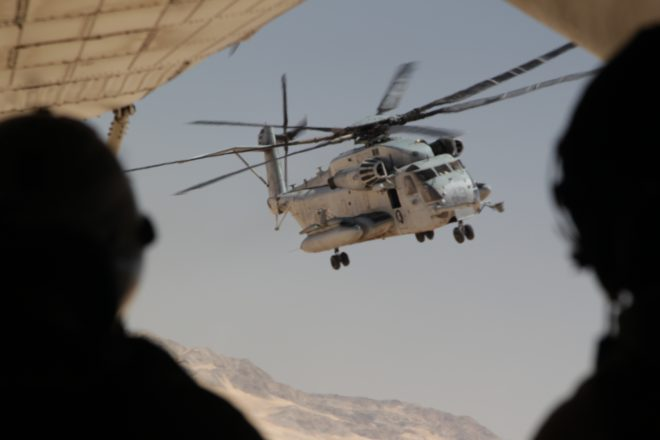 UPDATED: Four Marines Killed in CH-53E Helo Crash in California