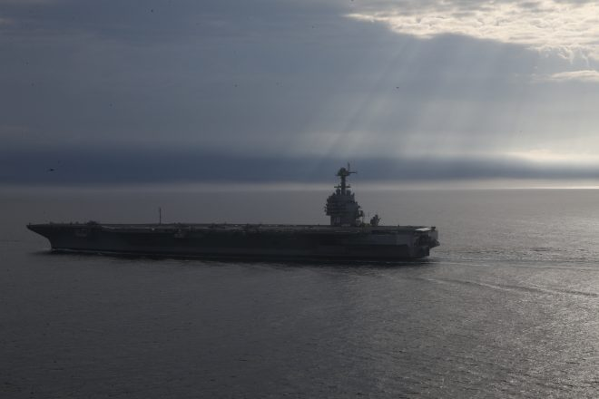 Carrier Ford May Not Deploy Until 2024, 3rd Weapons Elevator Certified