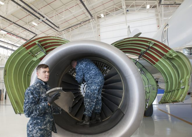 Navy's P-8As Unaffected by FAA's Boeing 737 Engine Inspection Requirement After Fatal Southwest Incident