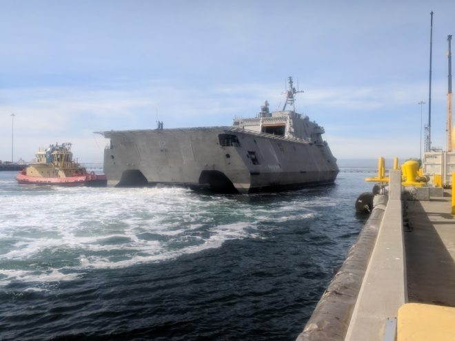Navy May Not Deploy Any Littoral Combat Ships This Year
