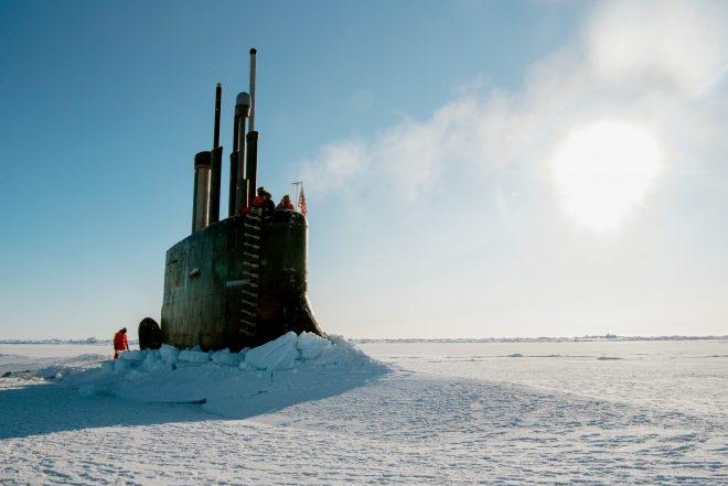Navy to Release Arctic Strategy This Summer, Will Include Blue Water Arctic Operations