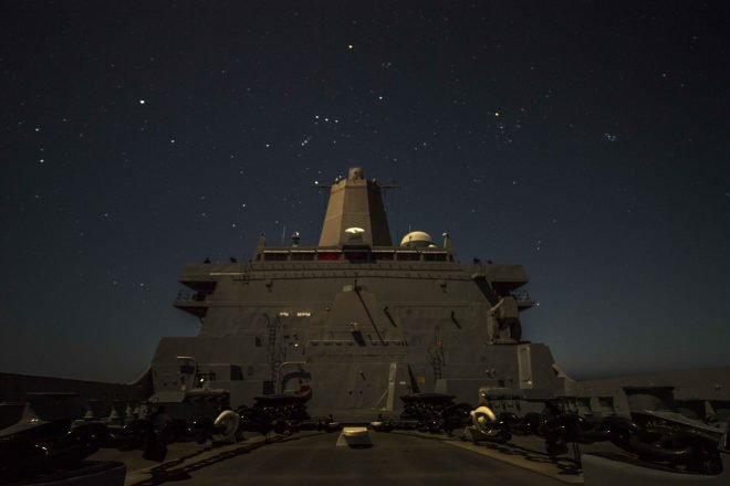 Marines, Navy Considering 'Alternate' Amphibs to Supplement Today's Fleet