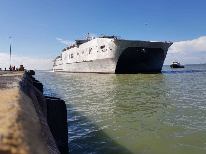 Navy Considering Command Ship Mission for EPFs In Western Pacific