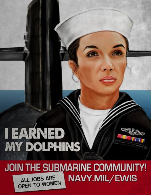 Navy's Submarine Service Wants More Women