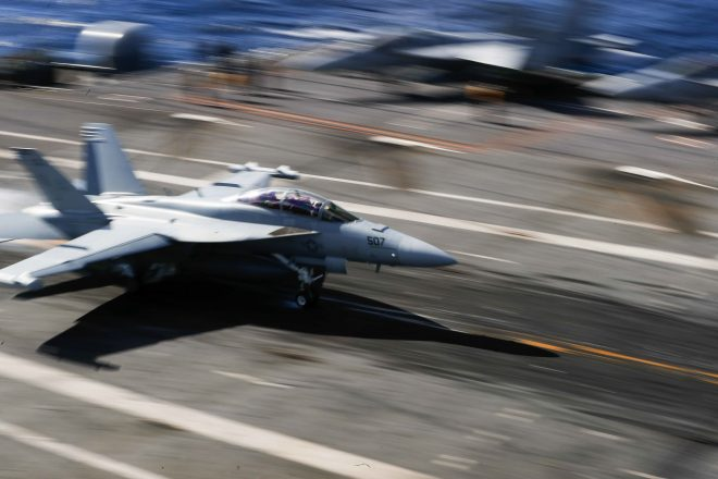 First Super Hornet Inducted Into Service Life Extension Program