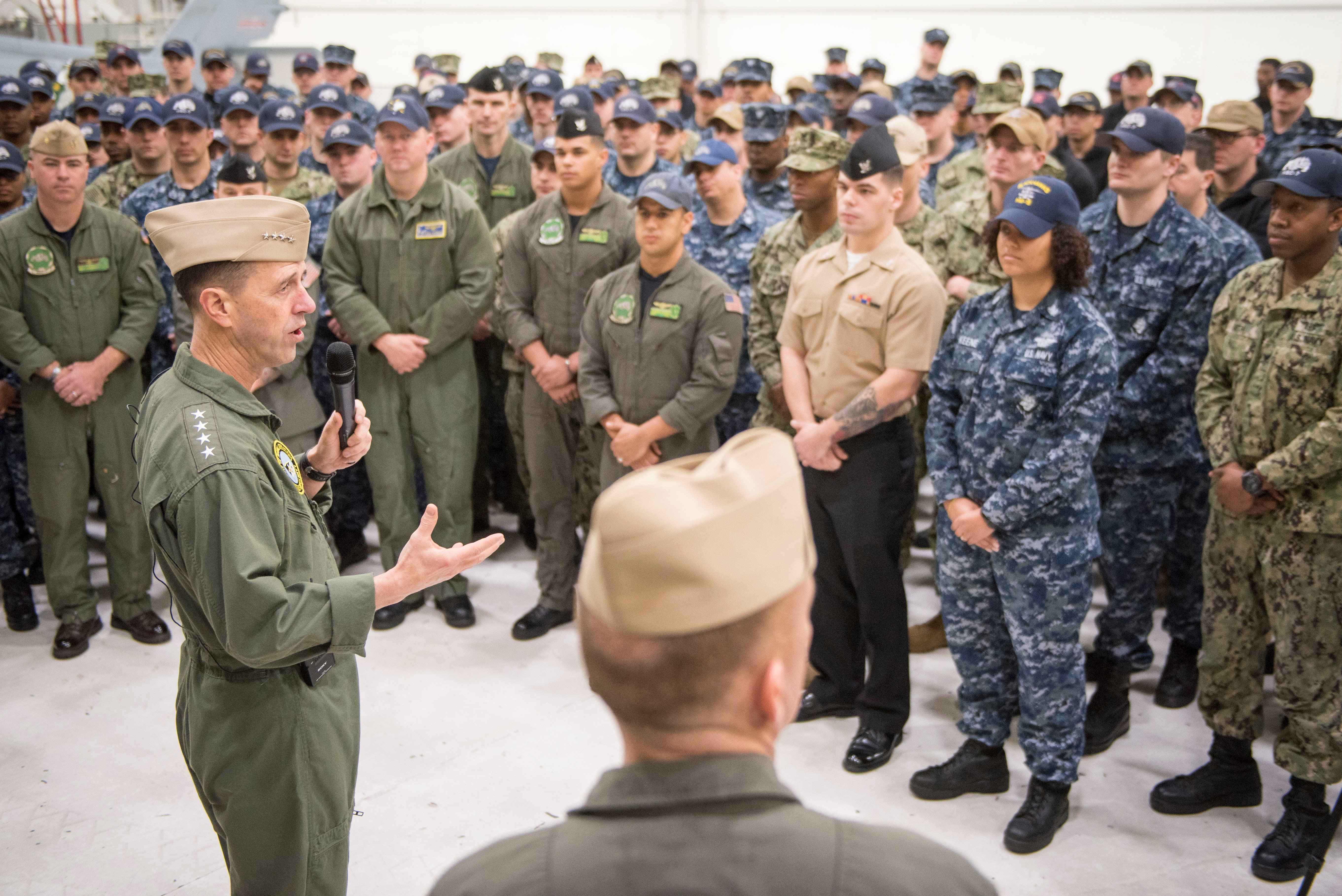 CNO's New Navy Leadership Training Emphasizes Character