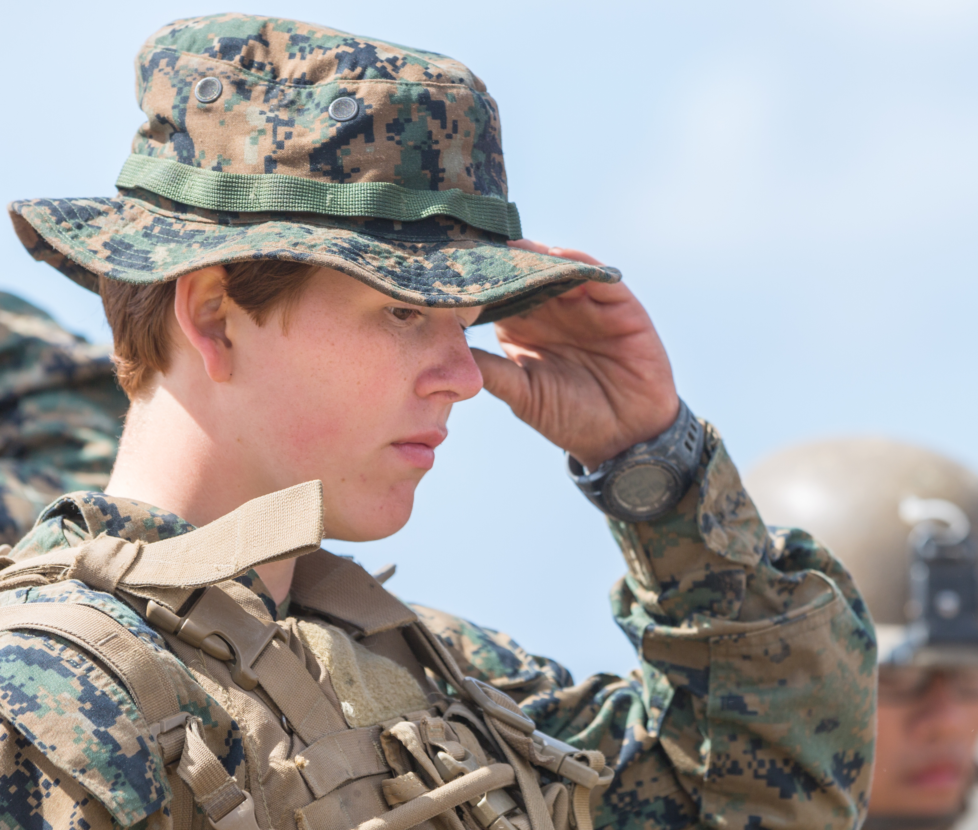 Military Branches Are Doing More To Recruit Women Into Active Duty