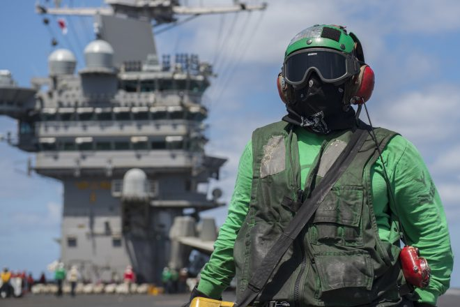 Truman Strike Group Enters Mediterranean Sea, Days After Syria Air Strikes