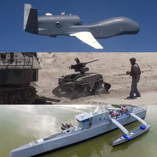 Navy, Marines Testing Unmanned Systems to Learn Integration Lessons