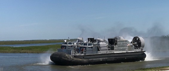 First Ship-to-Shore Connector Begins On-Water Testing in New Orleans