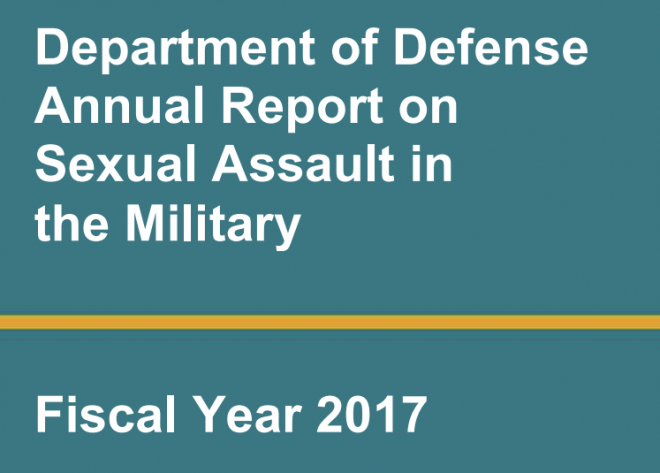 Document: Pentagon, Department of Navy Fiscal Year 2017 Sexual Assault Reports