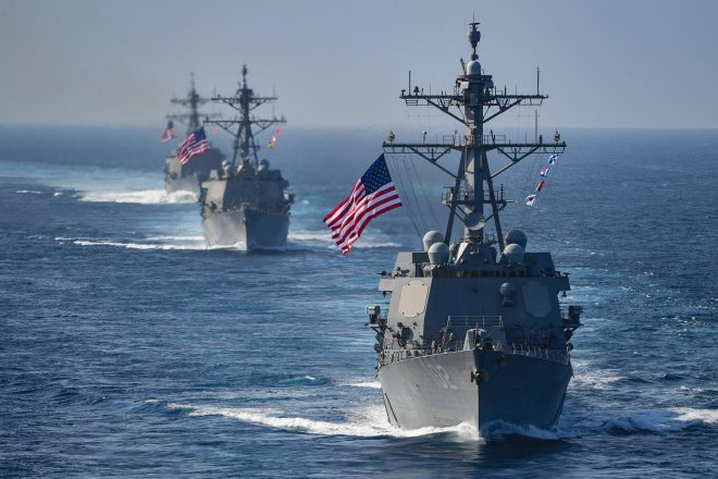 Navy Will Extend All DDGs to a 45-Year Service Life; 'No Destroyer Left Behind' Officials Say