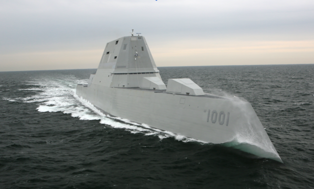 Navy Accepts Partial Delivery of Zumwalt-class DDG Michael Monsoor