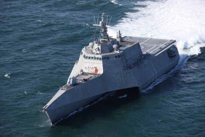 Navy Accepts Delivery of Latest Littoral Combat Ship Tulsa