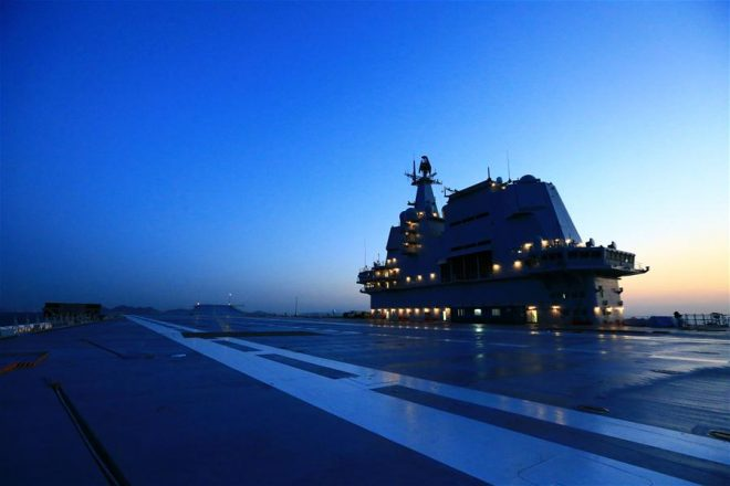 First Chinese-built Carrier Returns from Successful Sea Trials