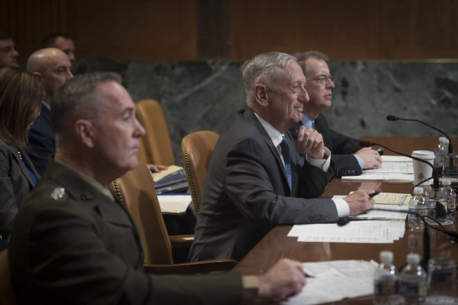 Mattis Defends Trump Administration's Call for Low-Yield Nuclear Weapons