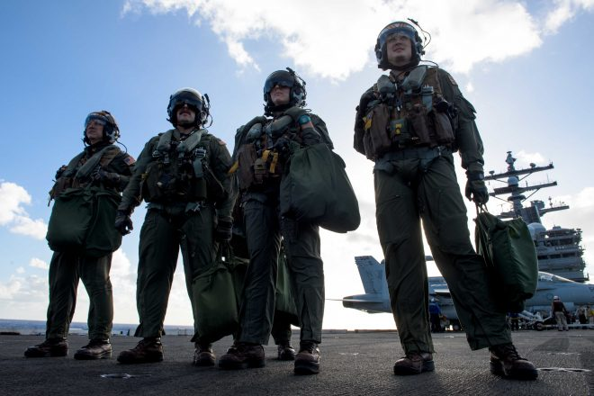 Navy, DoD Manpower Nominees Address Pilot Shortages, Retention Concerns