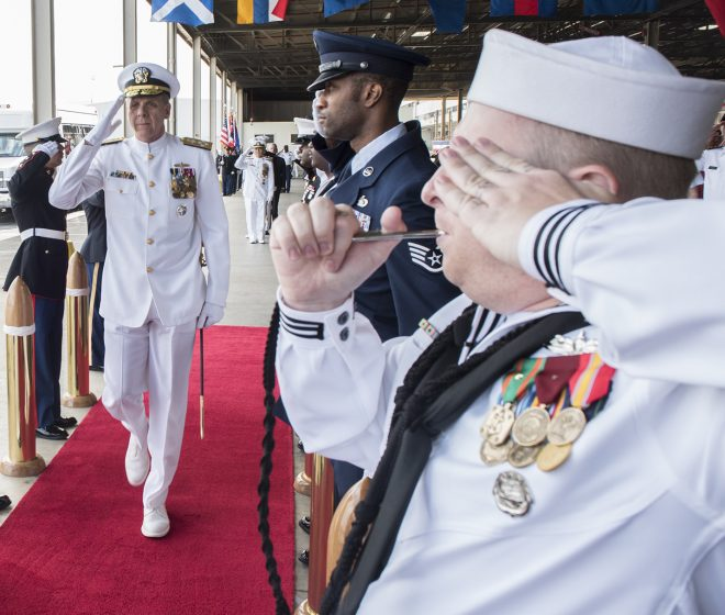Davidson Takes Charge of Newly Renamed U.S. Indo-Pacific Command