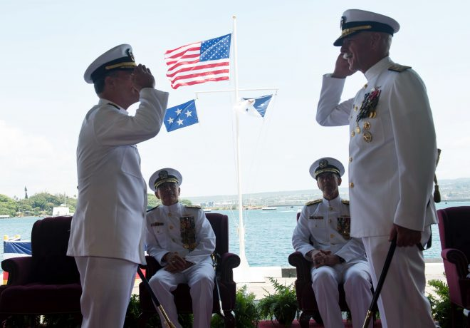 VIDEO: U.S. Pacific Fleet Change of Command