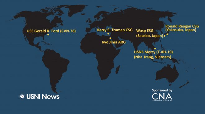 USNI News Fleet and Marine Tracker: May 21, 2018