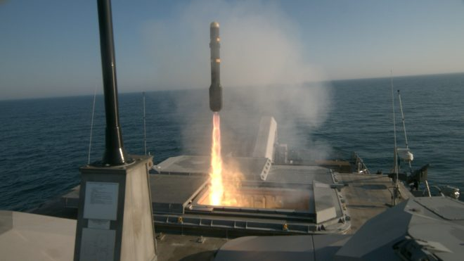 VIDEO: USS Milwaukee Launches Hellfires in LCS Surface-to-Surface Missile Module Test
