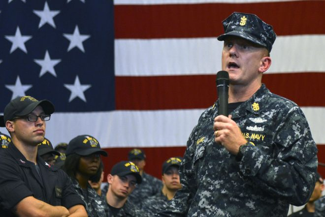 MCPON Giordano Steps Down Amidst Workplace Misconduct Investigation