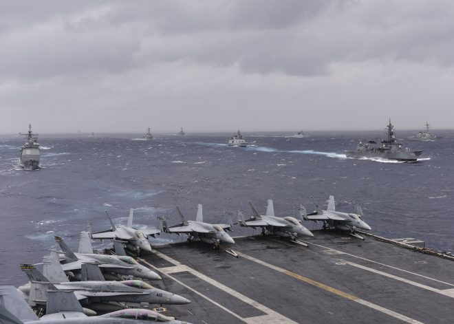 U.S., India, Japan Navies Start Malabar Exercise Tomorrow in Guam