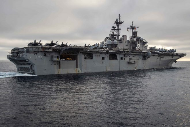 Missing Marine From USS Essex Identified, Declared Deceased