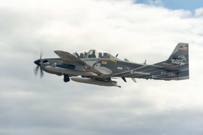 Marines, Navy Evaluating Air Force's Light Attack Aircraft Experiment