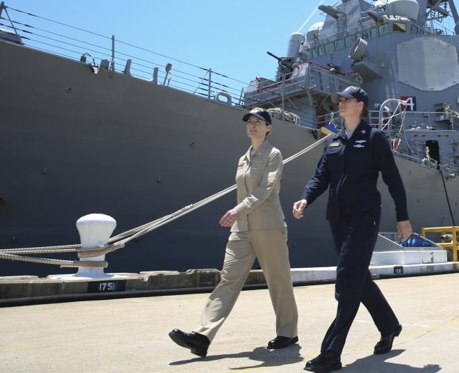 Navy Testing New Two-Piece Work Uniforms as Alternative to Coveralls on Ships