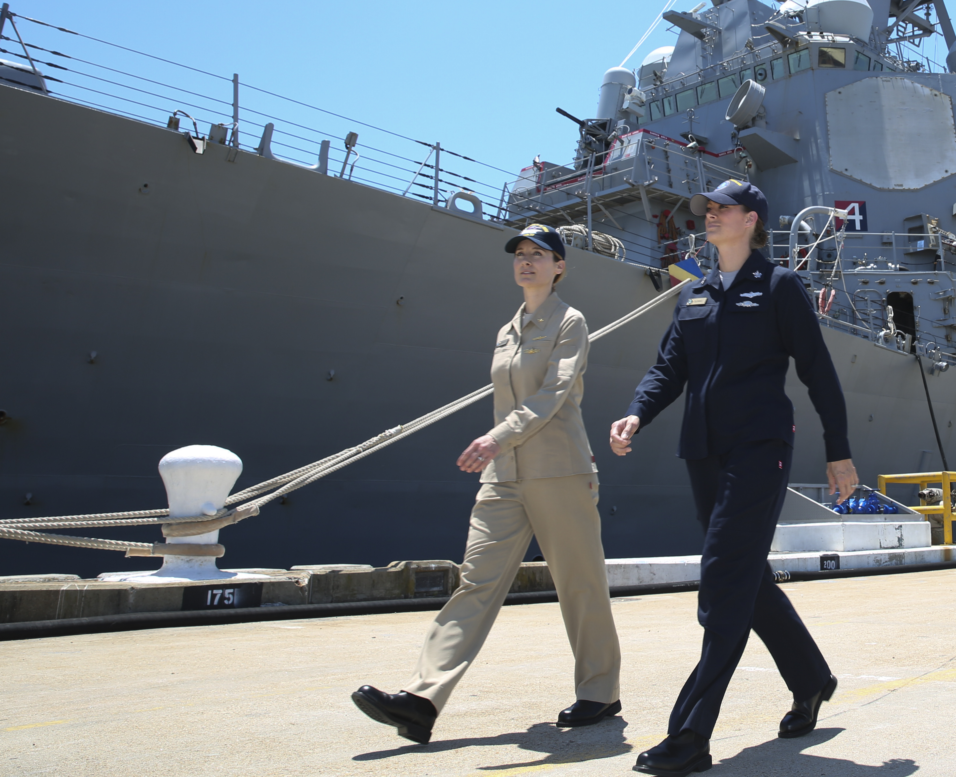 4bfaec100 Navy Testing New Two-Piece Work Uniforms as Alternative to Coveralls on  Ships