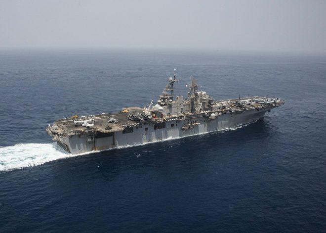 Amphib USS Iwo Jima Now in Persian Gulf; First U.S. Capital Ship in Region Since March