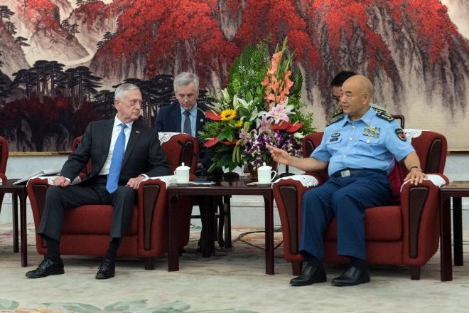 Mattis, Chinese Leadership Discuss Pacific Cooperation in First SECDEF Trip to Beijing Since 2014