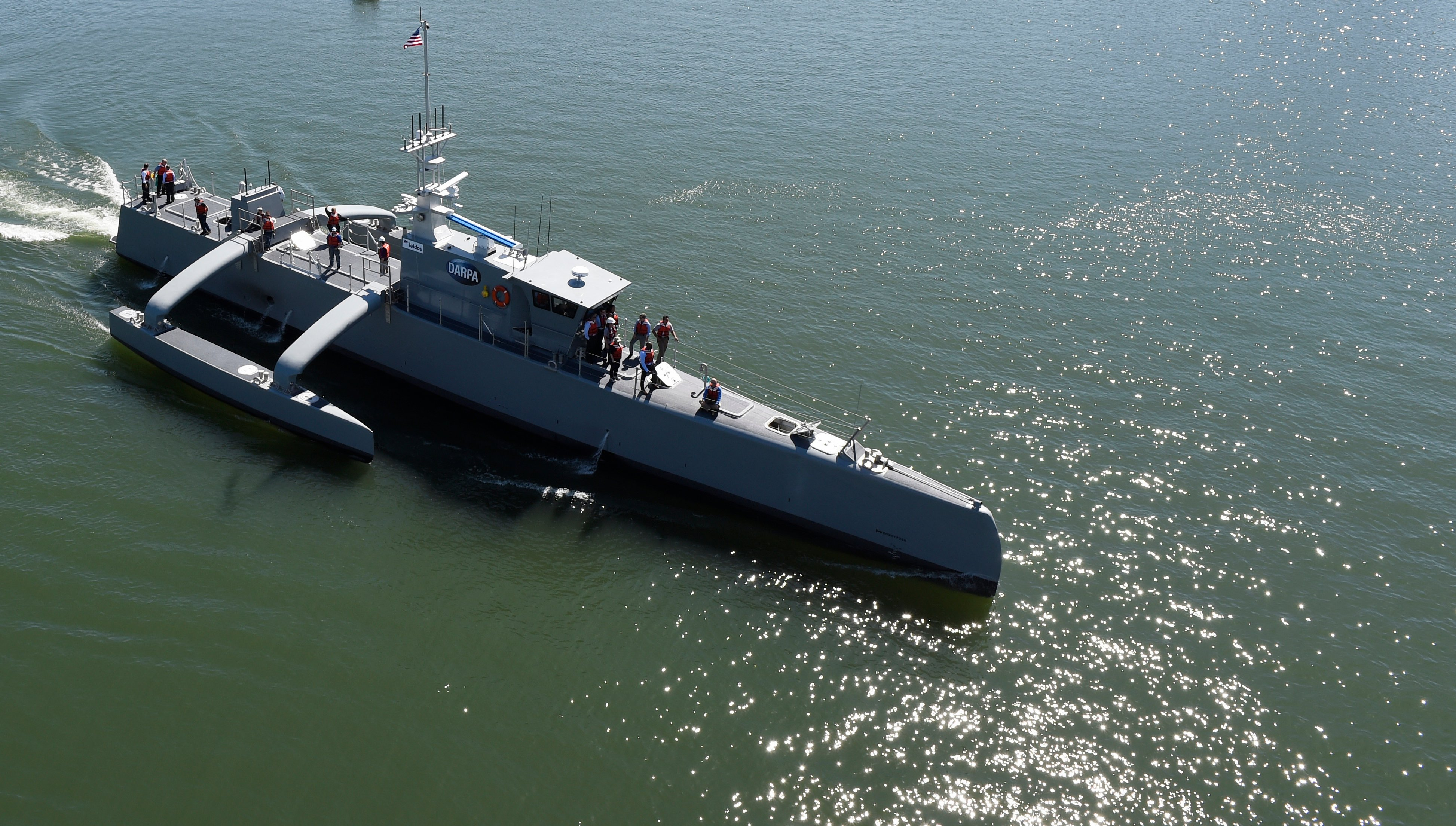 Panel: Unmanned Surface Vessels Will be Significant Part of