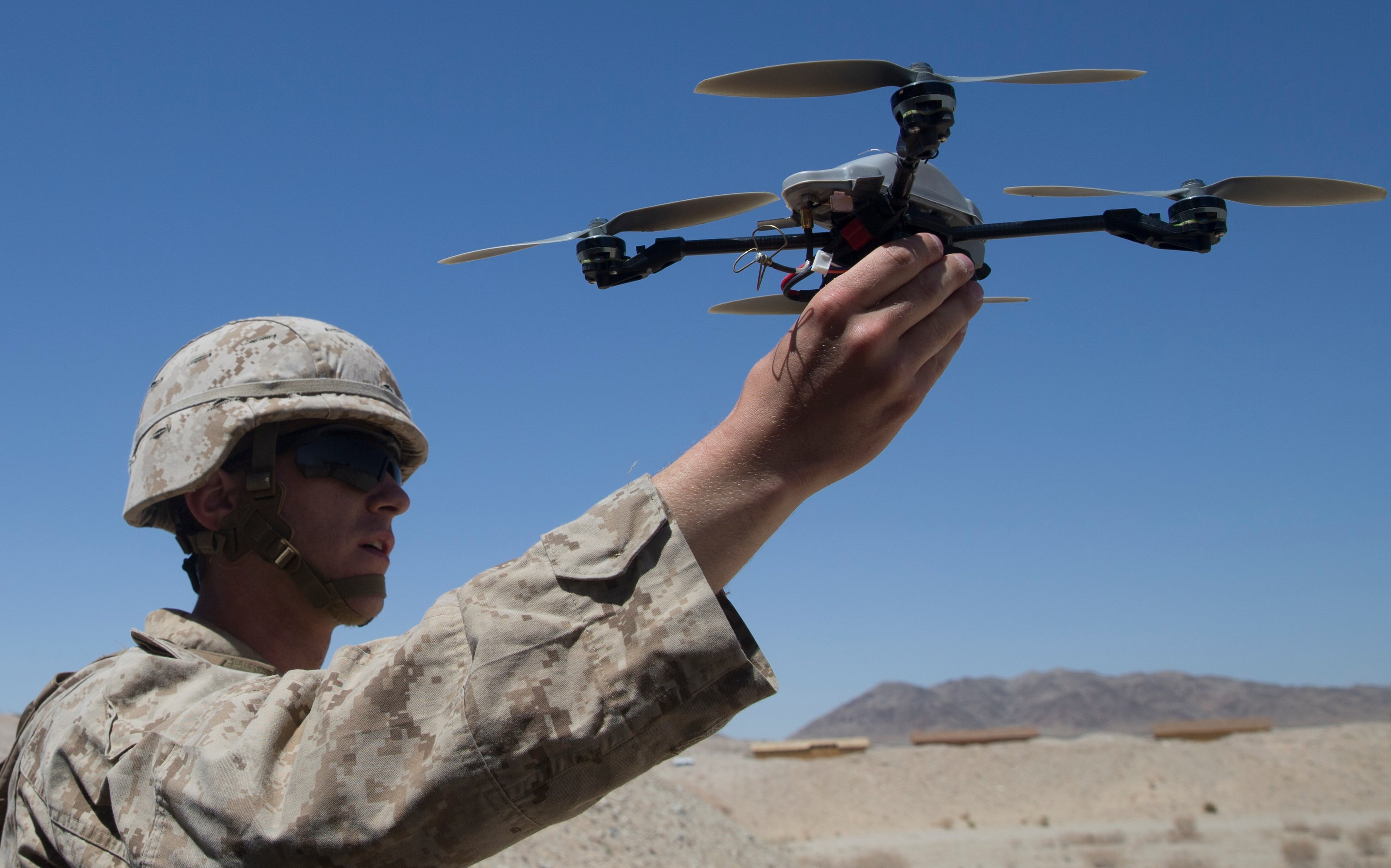 Pentagon Grounds Marines' 'Eyes in the Sky' Drones Over