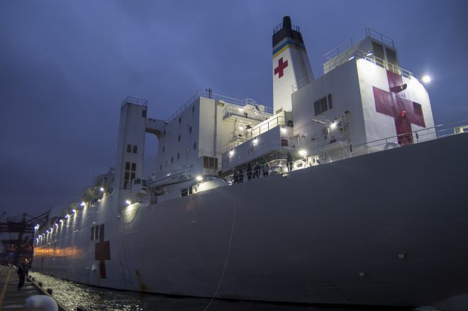 Beyond Mercy: Navy's COVID-19 Hospital Ship Missions and the Future of Medicine at Sea - USNI News