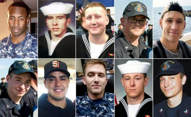 USS John S. McCain Collision, A Year Later