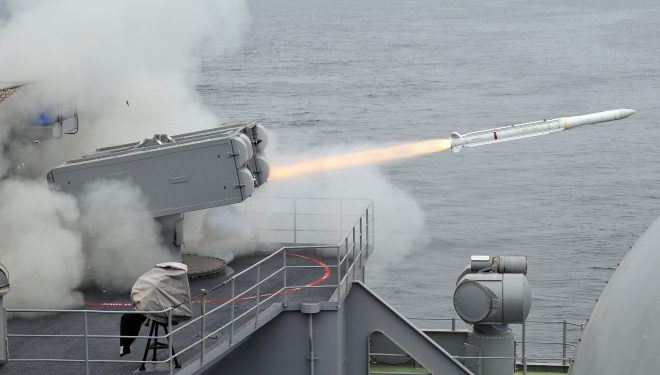 Evolved Seasparrow Missile Block 2 Successfully Intercepts Aerial Target in First Live Fire Test