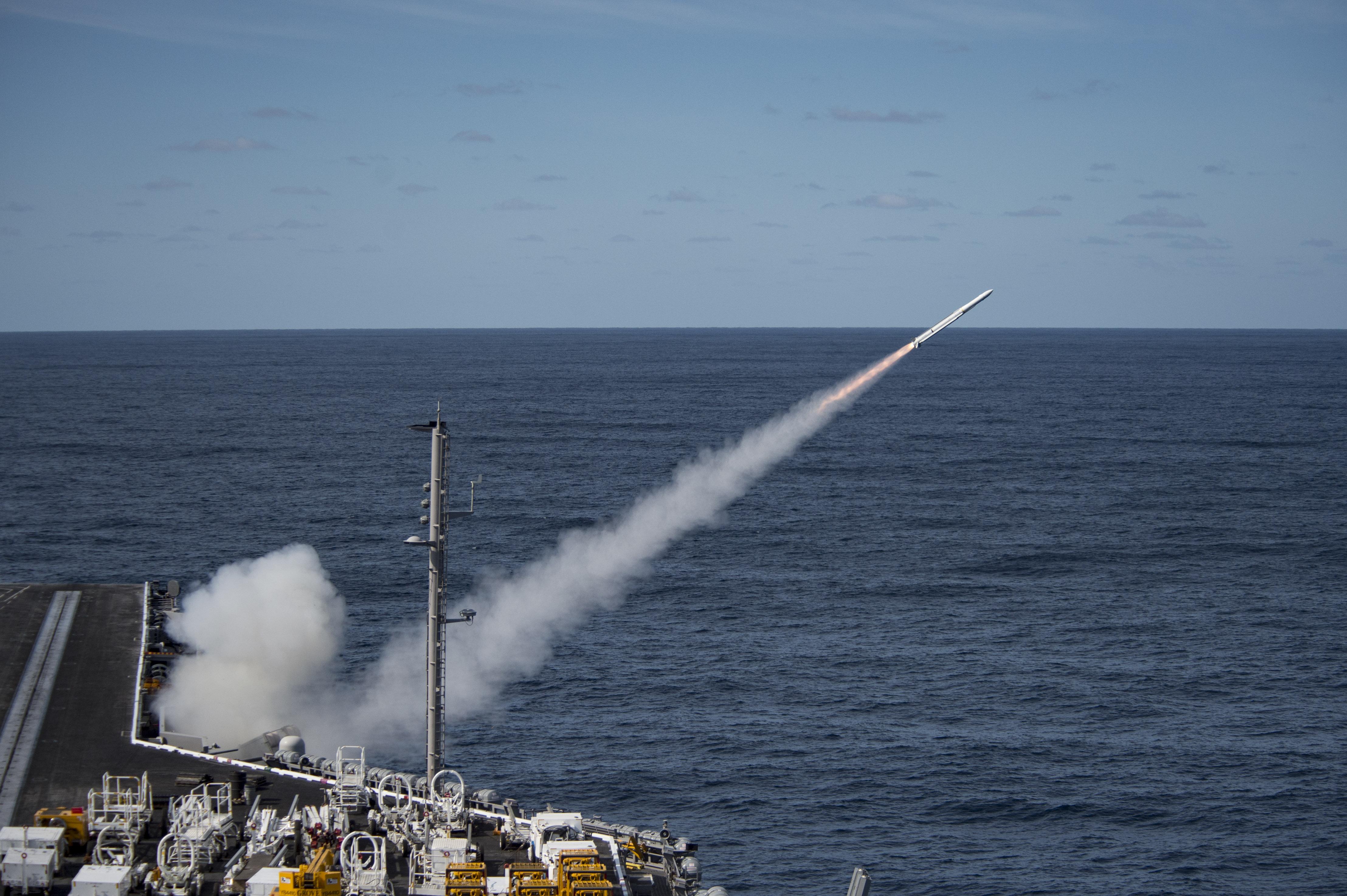 Evolved Seasparrow Missile Block 2 Successfully Intercepts Aerial