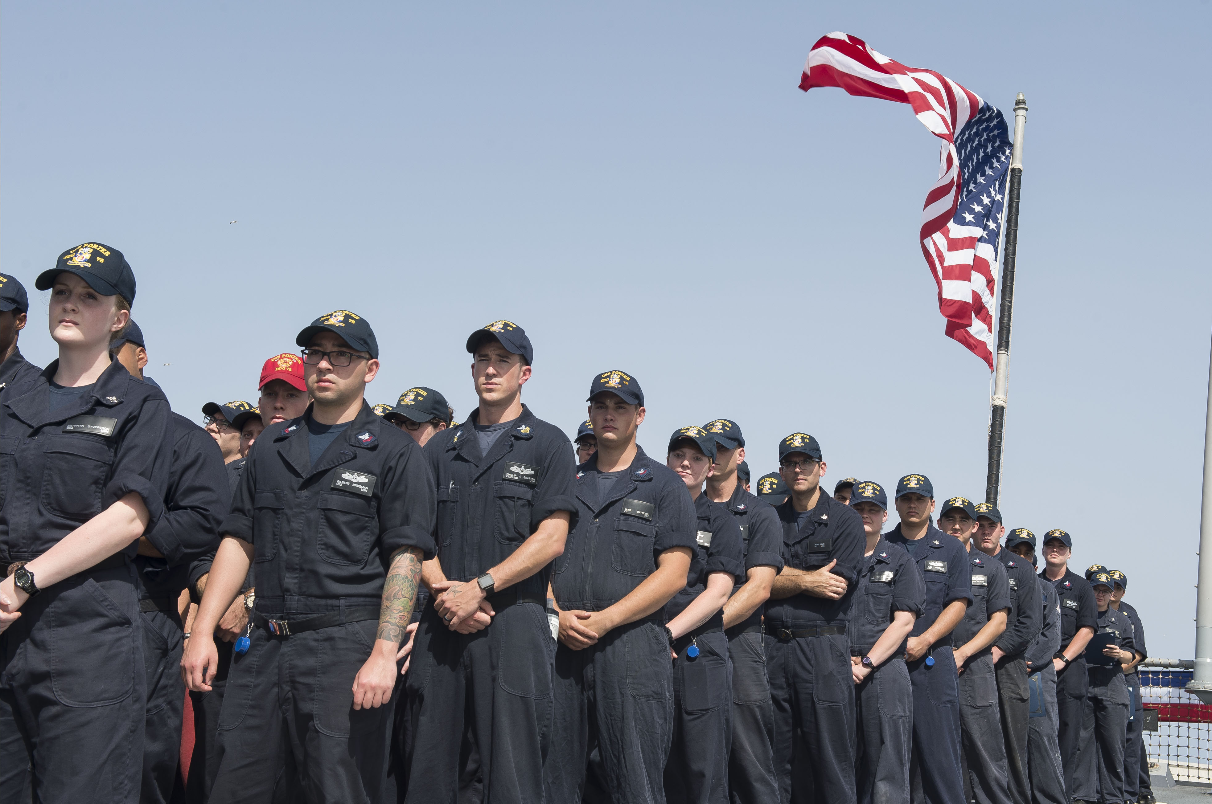 US Navy – All Hands Military Fit