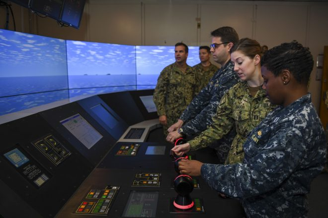 Future Ships Classes Will Need Hands-On Trainers Like LCS, DDG-1000 Systems