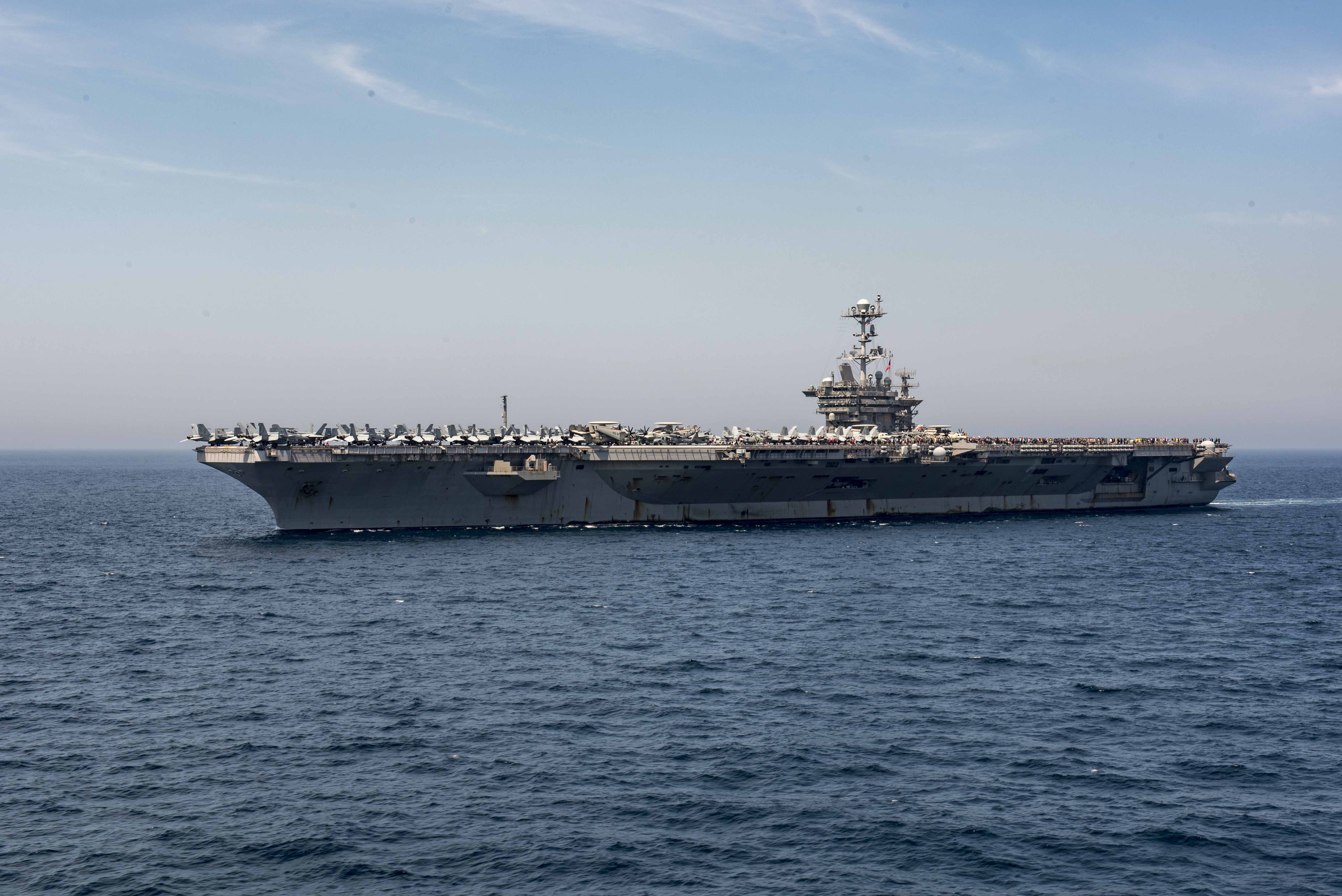 Video Uss Harry S Truman Returns Home After Brief Deployment