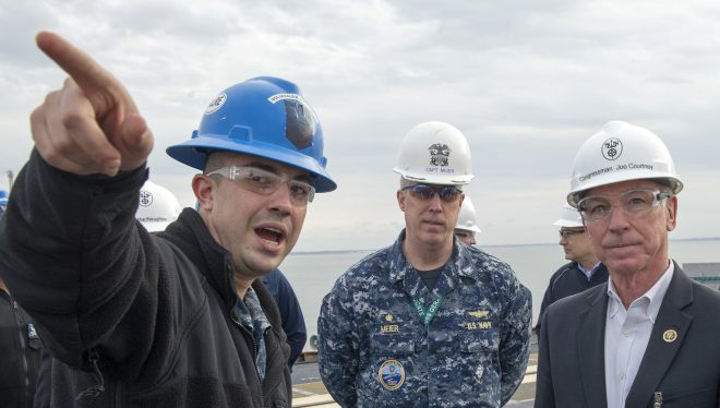Rep. Courtney: U.S. Needs Comprehensive National Maritime Strategy Soon